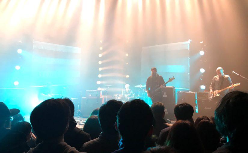 今年の初ライブはMOGWAIです