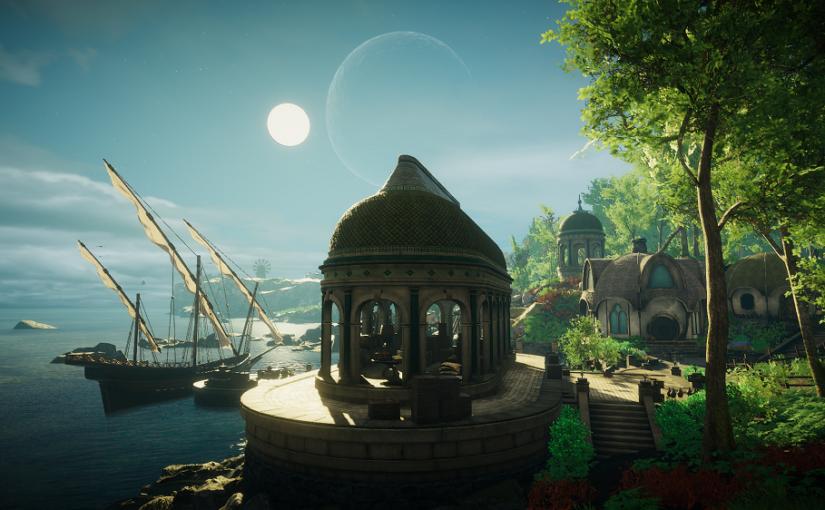 美しい世界をのんびり独り歩きするゲーム「Eastshade」はじめました!