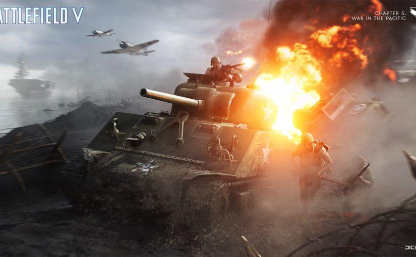 Battlefield Vに新たなコンテンツ「太平洋の戦い」が登場!