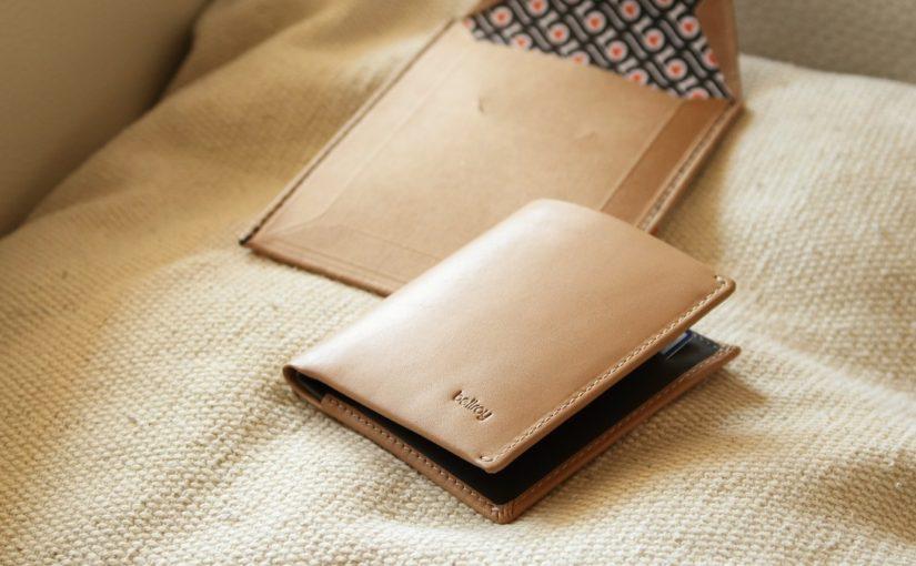 新しい財布、Bellroy の「Note Sleeve」を購入!