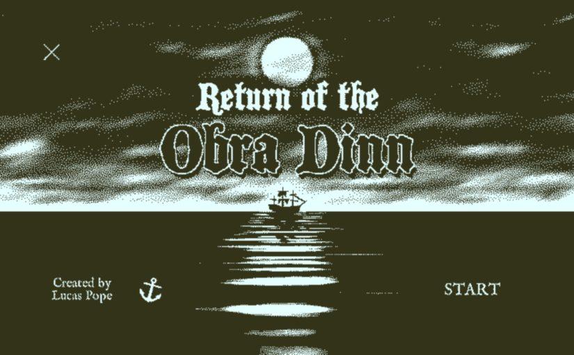 推理ゲー「Return of the Obra Dinn(オブラ・ディン号の帰還)」の謎解きが面白い!
